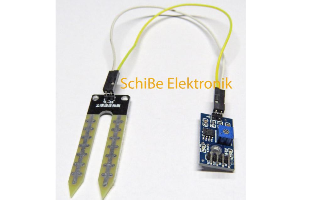 2 Stücke Avr Erkennung Modul Für Arduino Hygrometer Sensor Modul Bodenfeuchte ag
